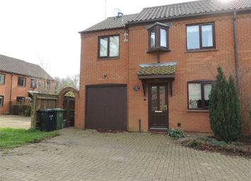 Thumbnail 3 bedroom semi-detached house for sale in Glosthorpe Manor, Ashwicken, King's Lynn