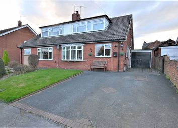 Thumbnail 4 bed semi-detached house for sale in Norfolk Road, Congleton, Cheshire