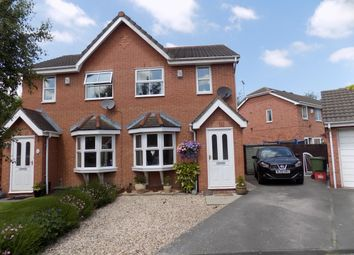 Thumbnail 2 bed semi-detached house for sale in Tealby Close, Northwich