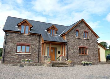 Thumbnail 3 bed detached house to rent in Talachddu, Brecon