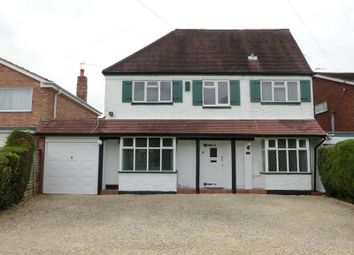 Thumbnail 4 bed detached house for sale in Haslucks Green Road, Majors Green, Solihull