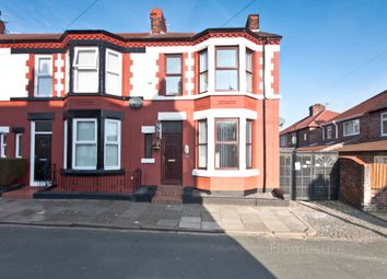 Thumbnail 3 bed end terrace house for sale in Loreburn Road, Wavertree, Liverpool