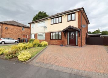 Thumbnail 3 bed semi-detached house for sale in Wyre Drive, Boothstown, Manchester