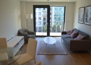 Thumbnail 2 bed flat to rent in Redwood House, Emerald Gardens, Wembley Park