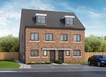 "Thumbnail 3 bed property for sale in ""The Bamburgh"" at Close Street, Hemsworth, Pontefract"