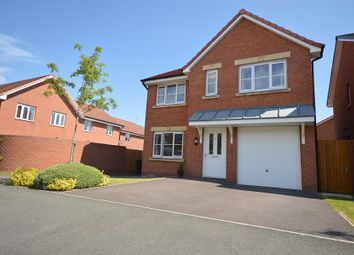 Thumbnail 4 bed detached house to rent in Gloucester Avenue, Middlewich