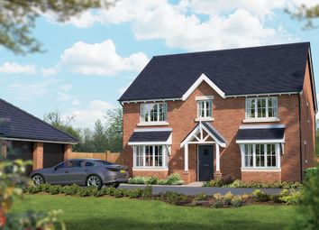 "Thumbnail 5 bed detached house for sale in ""The Winchester"" at Crewe Road, Haslington, Crewe"