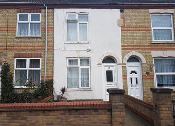 Thumbnail 3 bed terraced house to rent in Granville Street, Peterborough