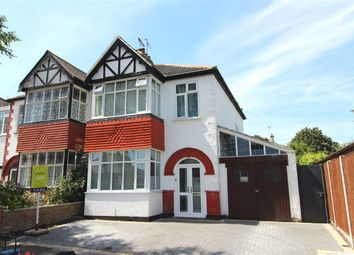 Thumbnail 3 bed semi-detached house for sale in Birchwood Drive, Leigh-On-Sea