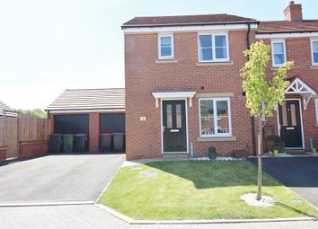 Thumbnail 3 bed semi-detached house to rent in Cover Drive, St. Georges, Telford