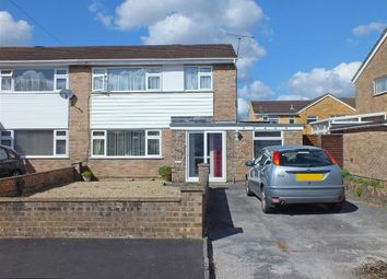 Thumbnail 4 bed semi-detached house for sale in Smithywell Close, Trowbridge, Wiltshire