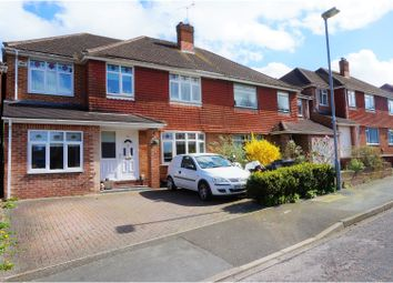 Thumbnail 4 bedroom semi-detached house for sale in Buckingham Road Lawn, Swindon