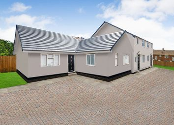Thumbnail 3 bedroom detached bungalow for sale in Church Road, Wittering, Peterborough