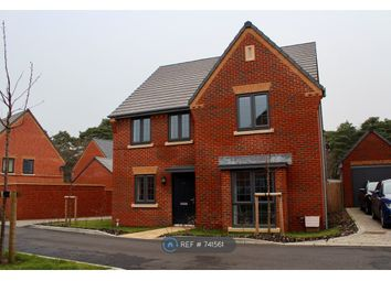 Thumbnail 4 bed detached house to rent in Oxney Way, Bordon