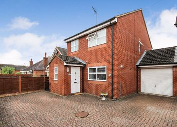 Thumbnail 3 bed detached house for sale in Robinson Road, Rushden, Northamptonshire