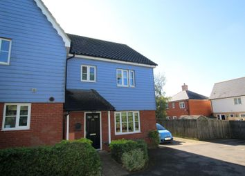 Thumbnail 3 bed semi-detached house for sale in Eider Close, Stowmarket