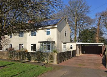 Thumbnail 3 bed semi-detached house for sale in Cadland Park, Holbury, Southampton