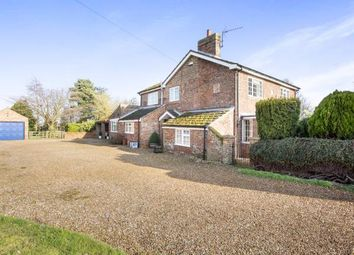 Thumbnail 4 bed detached house for sale in Tilney Fen End, Wisbech, Cambs