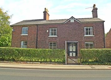 Thumbnail 4 bed detached house to rent in Chelford Road, Knutsford