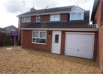 Thumbnail 5 bedroom link-detached house for sale in Sywell Grove, Elm
