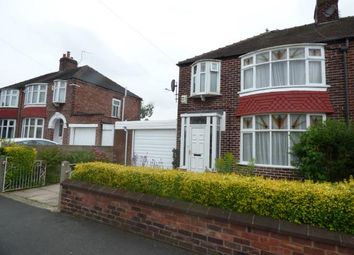 Thumbnail 3 bed semi-detached house for sale in Heaton Road, Withington, Manchester, Greater Manchester