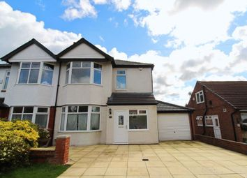Thumbnail 3 bedroom semi-detached house for sale in Douglas Road, Worsley, Manchester
