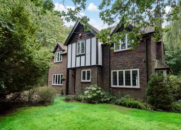 Thumbnail 4 bed detached house for sale in Brookwood Lye Road, Woking
