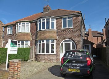 Thumbnail 4 bed semi-detached house to rent in Hull Road, York
