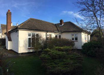 Thumbnail 3 bed detached bungalow for sale in Park Road West, Sutton On Sea, Lincs.