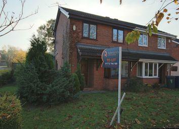 Thumbnail 2 bed semi-detached house to rent in Marsh Way, Penwortham, Preston
