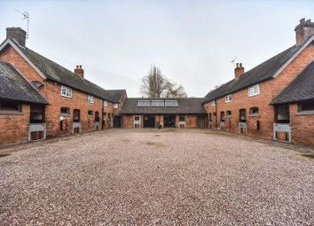 Thumbnail 5 bed equestrian property for sale in Foston Stud, Hay Lane, Foston, Derbyshire