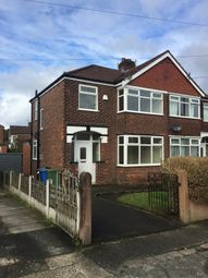 Thumbnail 3 bed semi-detached house to rent in Bradwell Avenue, Stretford