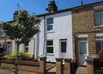 Thumbnail 2 bed terraced house for sale in Percival Street, Peterborough