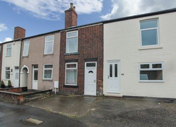 Thumbnail 2 bed terraced house to rent in Chatsworth Road, Brampton, Chesterfield