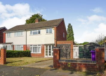 Thumbnail 3 bed semi-detached house for sale in Malins Road, Goldthorn, Wolverhampton