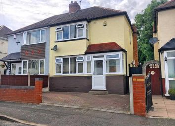 Thumbnail 2 bed semi-detached house for sale in Darby Road, Wednesbury, West Midlands