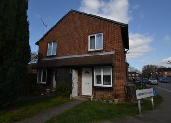 Thumbnail 1 bed semi-detached house to rent in Hereward Green, Loughton