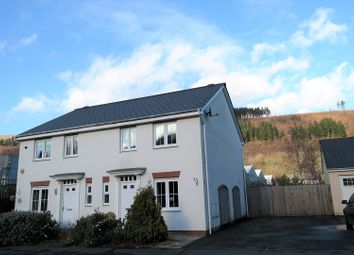 Thumbnail 3 bed semi-detached house for sale in Maes Y Ffynnon, Mountain Ash