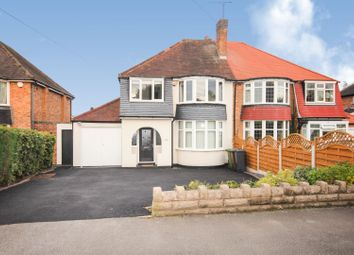 Thumbnail 3 bed semi-detached house for sale in Wroxall Road, Solihull