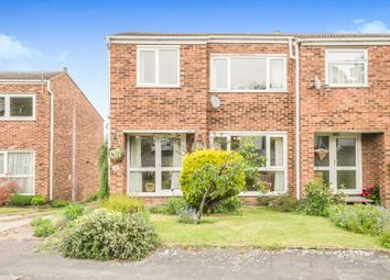 Thumbnail 3 bed semi-detached house for sale in Thurnall Avenue, Royston