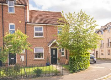 Thumbnail 3 bed end terrace house for sale in Wells Drive, Hambleton, Selby