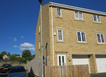 Thumbnail 4 bedroom town house for sale in Brunswick Place, Heckmondwike