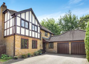 Thumbnail 5 bed detached house for sale in Wimbushes, Finchampstead, Wokingham, Berkshire
