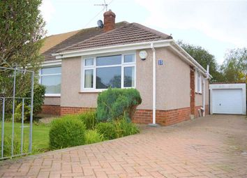 Thumbnail 2 bedroom semi-detached bungalow for sale in Moorland Avenue, Newton, Swansea