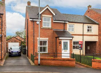 Thumbnail 2 bed semi-detached house for sale in Chatsworth Avenue, Strensall, York