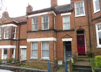 Thumbnail 3 bed terraced house for sale in College Road, Norwich
