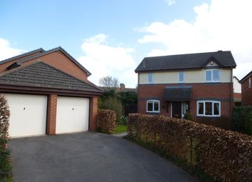 Thumbnail 4 bed detached house to rent in Abbey Fields, Wistaston, Crewe, Cheshire