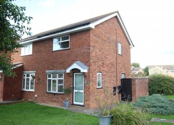 Thumbnail 2 bed semi-detached house for sale in Hampton Close, Bridgwater