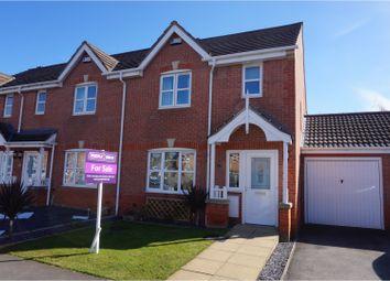 Thumbnail 3 bed semi-detached house for sale in Calvert Close, Nottingham