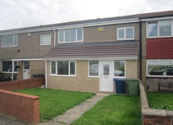 Thumbnail 3 bed terraced house to rent in Benton Road, South Shields